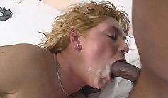 Gagged xx interracial action