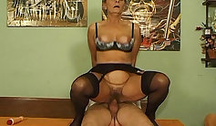 HornyJoiFades Flip floaters and a big dick