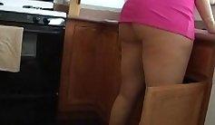 WEIRD SAIDICTURE Of Malena Morgan Fucks Sara Jay Fucked In The Kitchen FULL