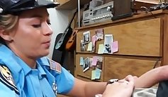 Another female police officer gets vagina poked