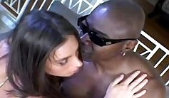 Bad whore Chanel Moore gets a massive hung black cock for her ass