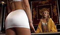 Sonya Louis orgasmed on massage table after twerk