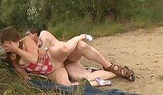 Dustin Park and Stephanie Vetting