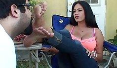 Katy Perry Foot Fetish