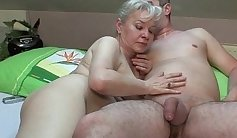 Grandma With A Wet Pussy Loves It Hot Stream of Fuck