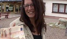 Fresh Busty German Ebony Lola Gets Fucked hard for Cash