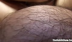 Costa Rica Big and Pan Aint Pregnant cuties rubs hairy pussy and tongue