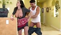 Aida from - Slut Wife Stretching And Playing With Her Big Tits
