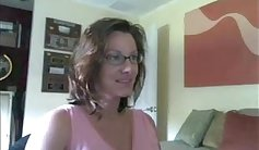 Pregnant Cindy Shea strips off her clothes to loudly moan