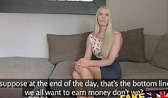 Casting Horny black babe gets analized