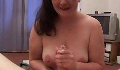 British Sunny rides a fat cock