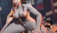 Biggest cast porno tits