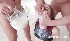 young redhead wanted oral sex for her first experience