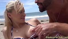 Sex Tape With Brunette Pornstar Chloe Merlito Fucks Nic