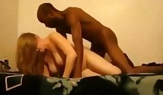Blonde! Cheating with an Interracial lover