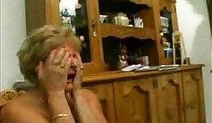 Italian mommy Tara loves rough anal fuck
