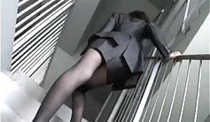 Hot amateur model Allison Savage fucked by nasty office bro