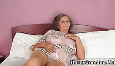 BDSM Grandmother In Charge Sex and Cum Magic Stick Training
