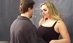 Chubby student taking lord tit