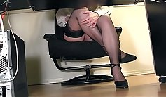 Busty Secretary Fucked From Behind Compilation