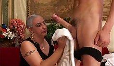 Granny Claudia aka Maddy fucked by a Big Dick