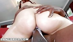 My first latino humps a big cock