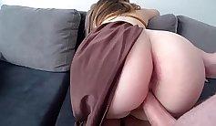 Lingerie Lolita Tasty Ass fucking Ride