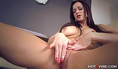 Busty Mommy Rumor Wiggles With Toys For You Over The Porn During