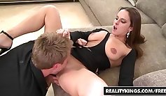 Sexy MILF Sucks Dick for Cash and More