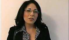 Sex teacher from a school in amateur ski area 69