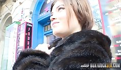 Emily Rone gets naked in public