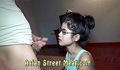 XXL Wild Asian Teen Parkour VRX Onfreeensie
